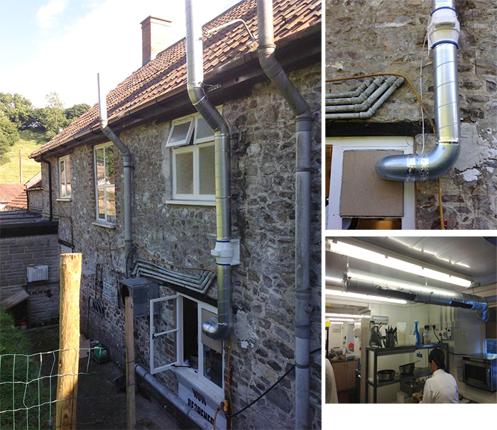 air system for kitchens exeter